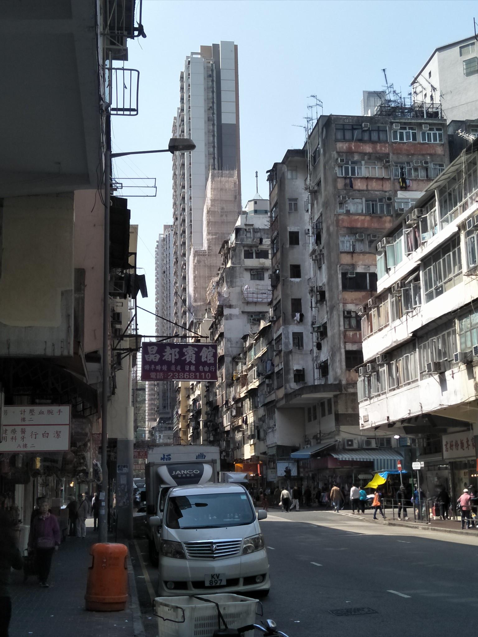 香港深水埗。(照片提供:钟乔)