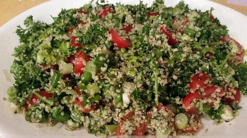 Tres Spa's Gluten Free Tabouli Raw Vegan