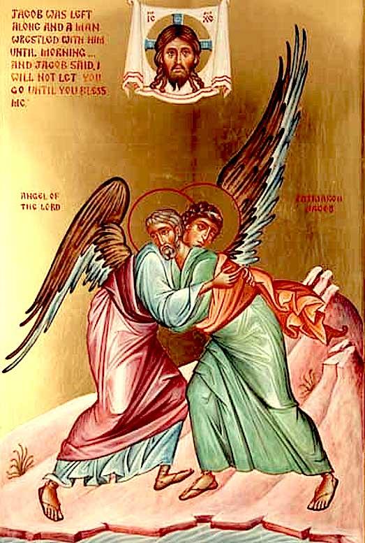 Иаков борется с Ангелом