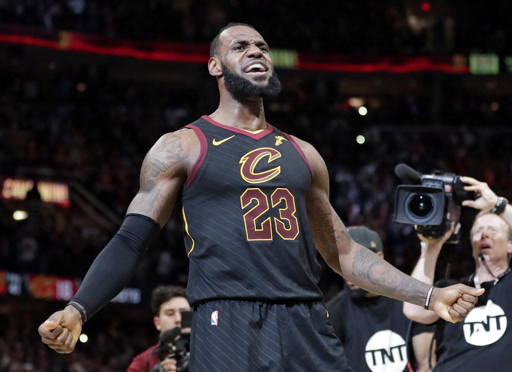 LeBron James成為史上入選年度第1隊最多次的球員。(達志影像資料照)