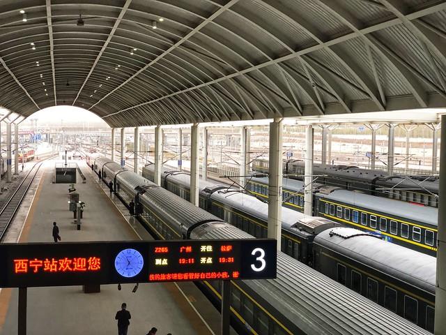 Tren a Lhasa desde Xining