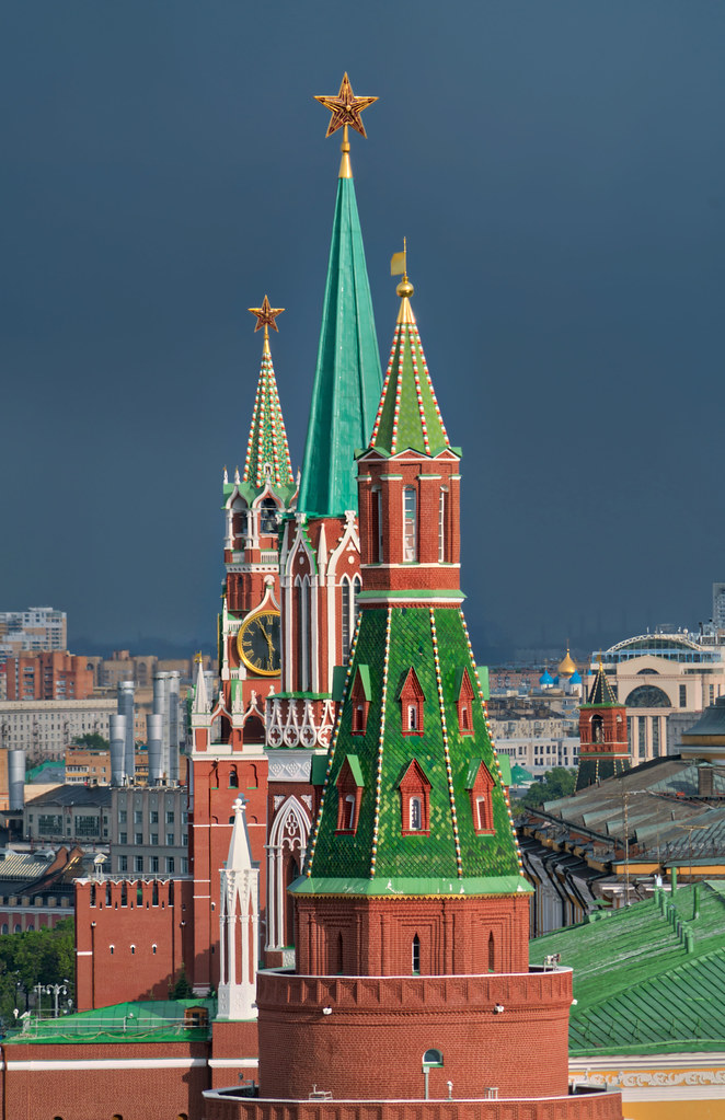 The Colors And Towers Of Moscow