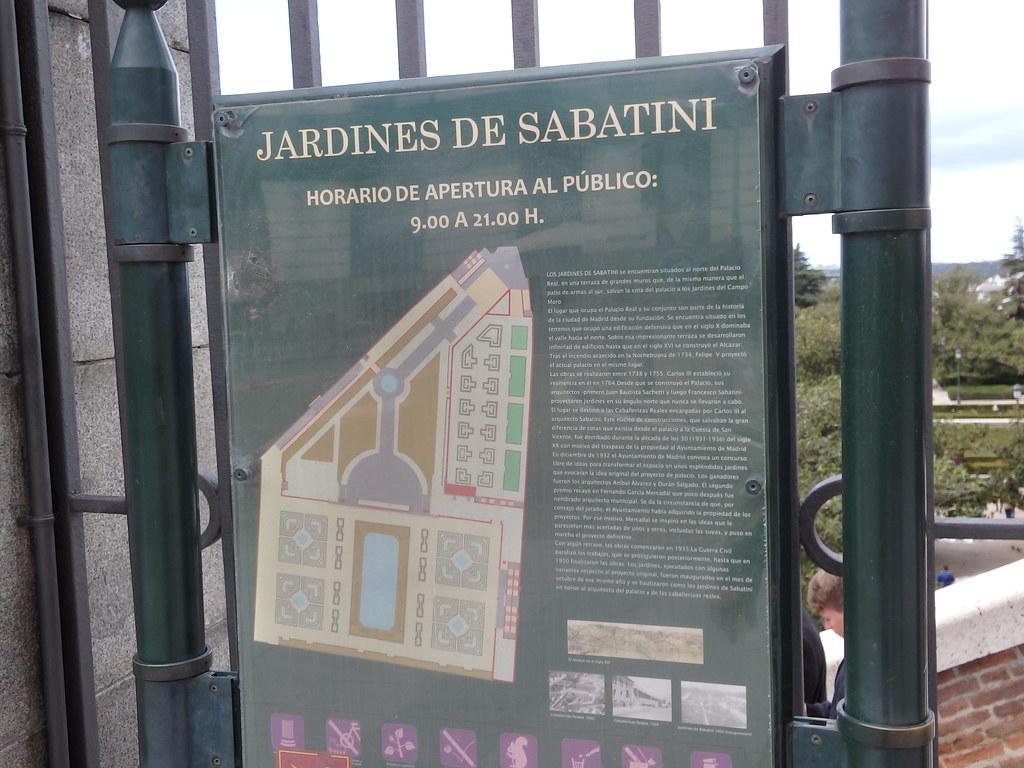 Jardines De Sabatini Madrid Mike Steele Flickr