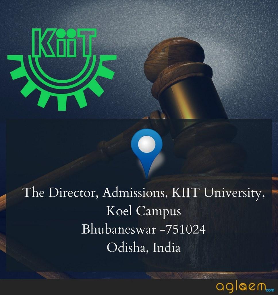 KIIT Law 2019 Application Form  %Post Title | AglaSem
