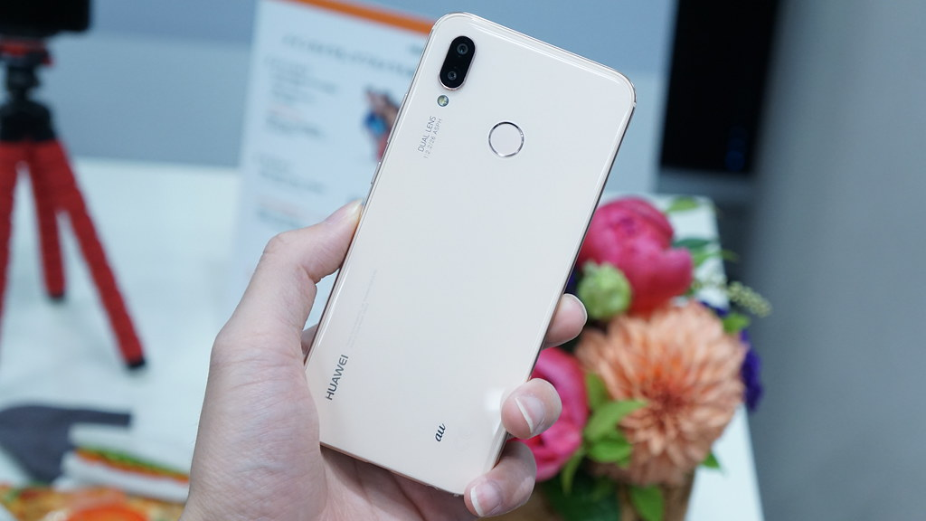 HUAWEI P20 lite サクラピンク