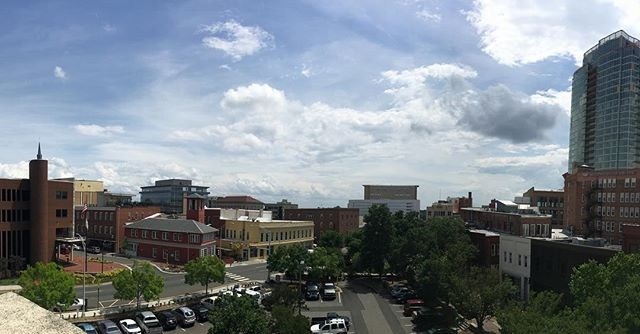View From The Top Of Our Parking Garage Yesterday Before T Flickr