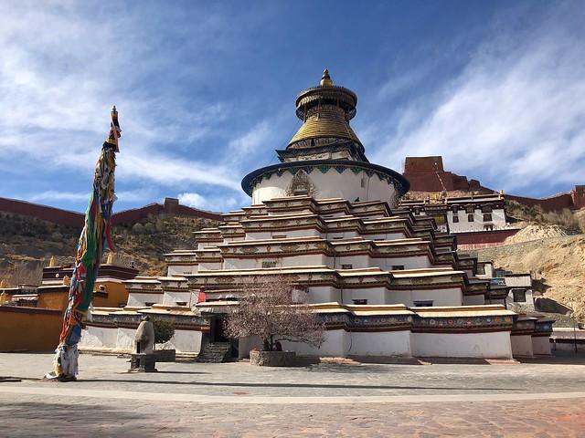 Kumbum de Gyantse (Tíbet)