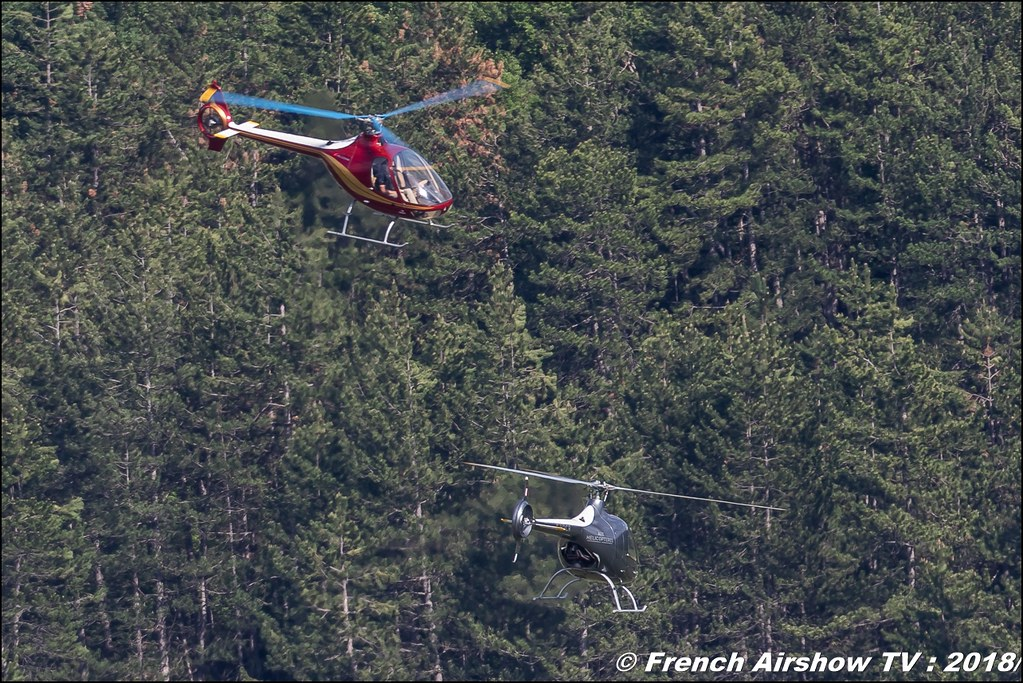 Démonstration de voltige en hélico Cabri , Meeting Aérien Gap-Tallard 12 mai 2018 - Alpes-Envol , Association AGATHA , Canon EOS , Sigma France , contemporary lens , Meeting Aerien 2018