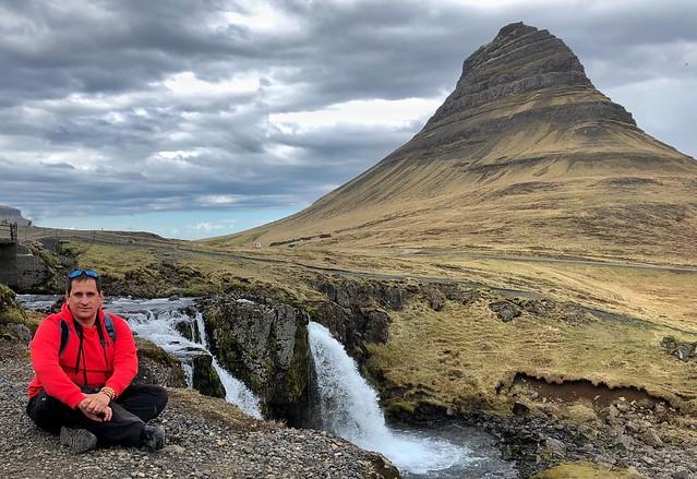 Sele en Kirkjufellfoss (Islandia)