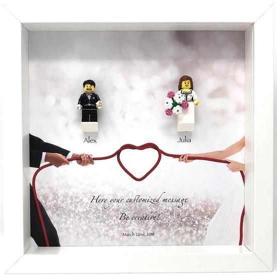 Lego Wedding, Lego Wedding Frame: The perfect wedding gift…   Flickr