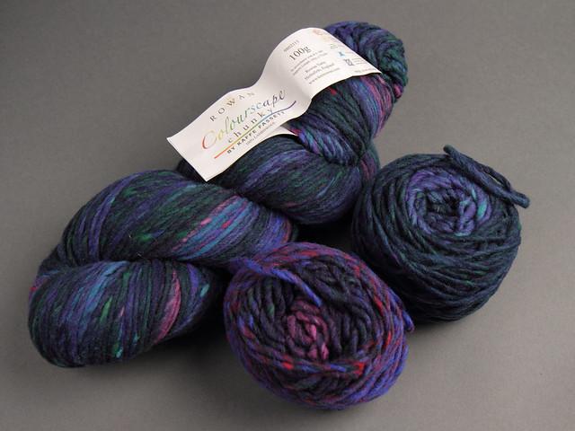 Destash yarn: Rowan Colourscape Chunky by Kaffe Fassett pure lambswool yarn 150g – 436 'Northern Lights'