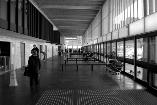 Renewal of Preston Bus Station - the sleek lines inside | by Tony Worrall