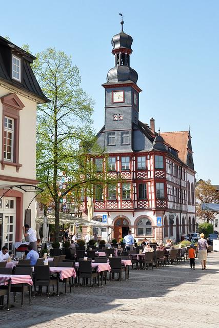 Mai 2018 - Lorsch ... karolingische Torhalle, Kloster, Klosterkirche, Klosteranlage, Klostermauer ... Foto: Brigitte Stolle