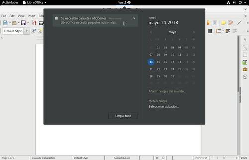 Fedora-28-Workstation-sugiere-instalar-los-paquetes-de-idioma-faltantes-al-abrir-LibreOffice-por-primera-vez