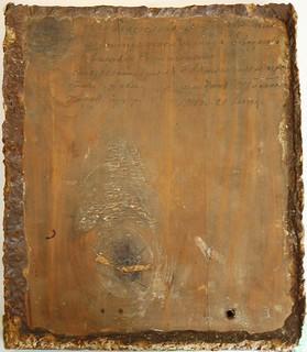 Икона, подписанная отцом Трифоном своей племяннице. 1915 г.