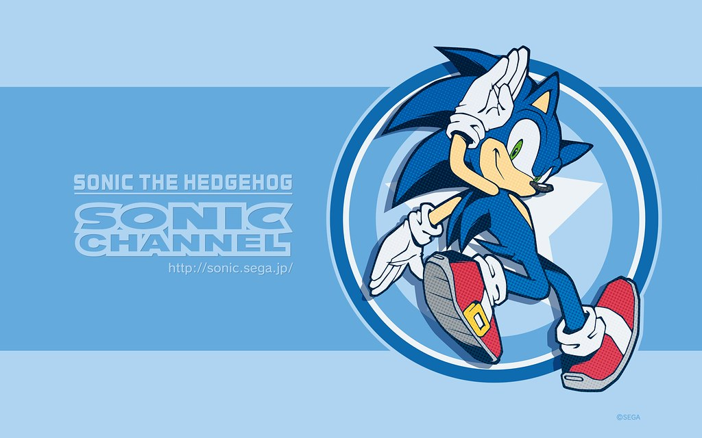 Sonic Channel Wallpaper June 2018 H Fixed 2 Sonictrainer Flickr
