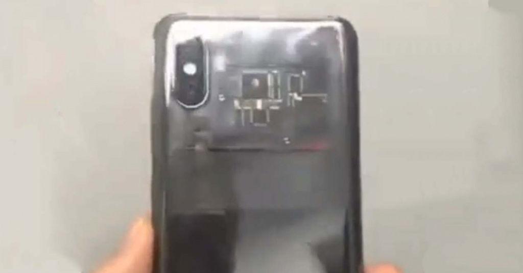 El Xiaomi Mi 8 aparece en un vídeo con carcasa transparente y notch