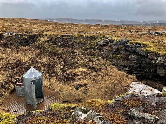 Cueva Vatnshellir, tubo de lava de Snaefellsnes (Islandia)