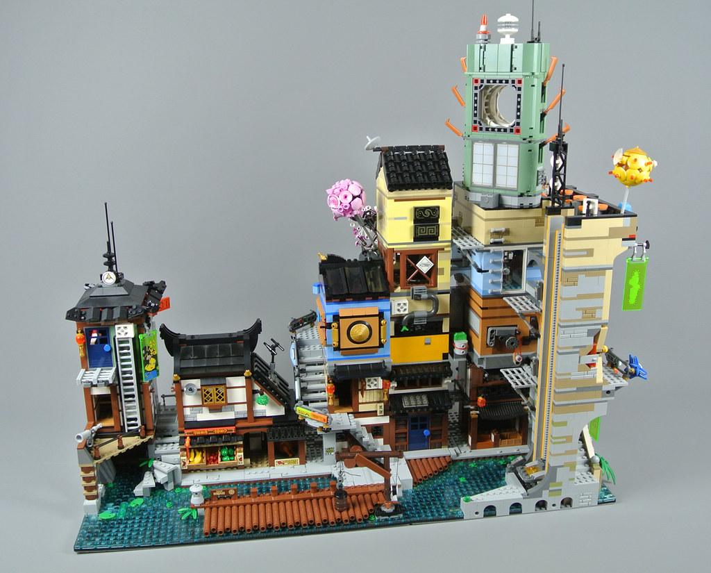 Lego The Lego Ninjago Movie 70657 Ninjago City Docks