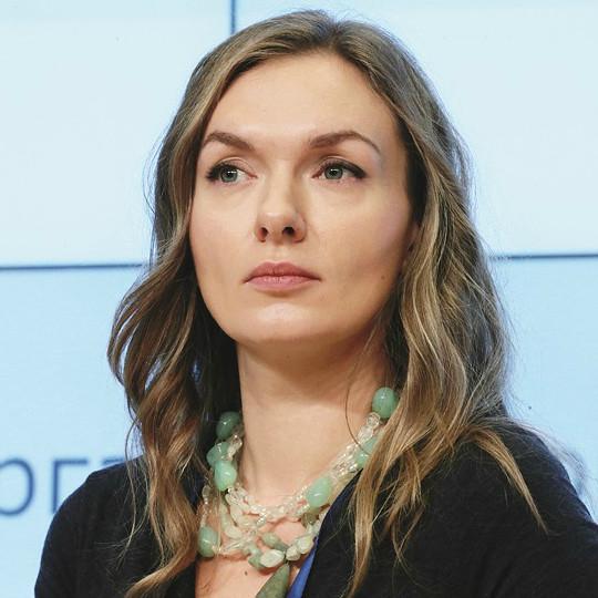 Ксения Франк, председатель наблюдательного совета Благотворительного фонда Геннадия и Елены Тимченко