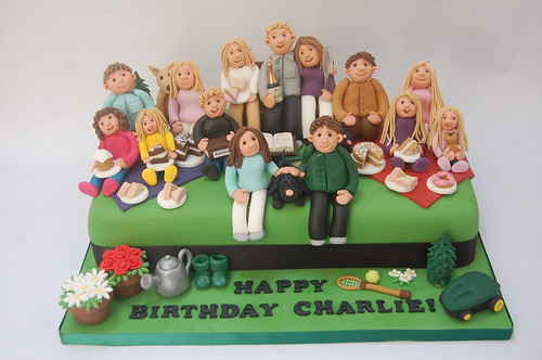 Three Family Generations Cake – Beautiful Birthday Cakes