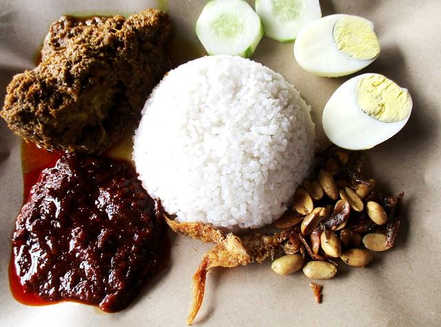 Warong Cafe nasi lemak special 1