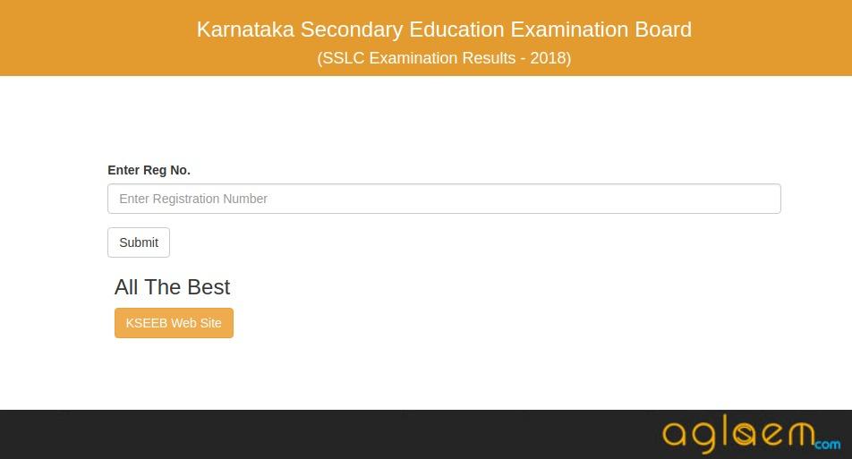 Karnataka SSLC Result 2018 Roll Number Wise