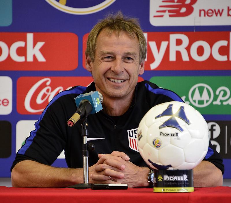 Jurgen Klinsmann認為他可帶領美國隊闖進俄羅斯世界盃。(AFP授權)