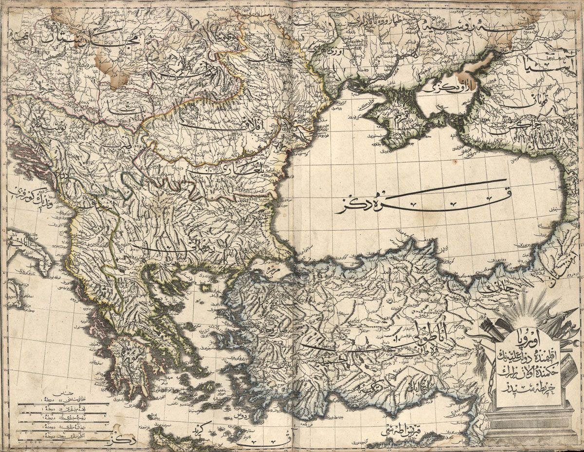 Greece, Turkey, and the Black Sea.