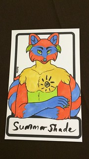 From the Badge Coloring Panel. Original template by Kalika. | by Morton Fox