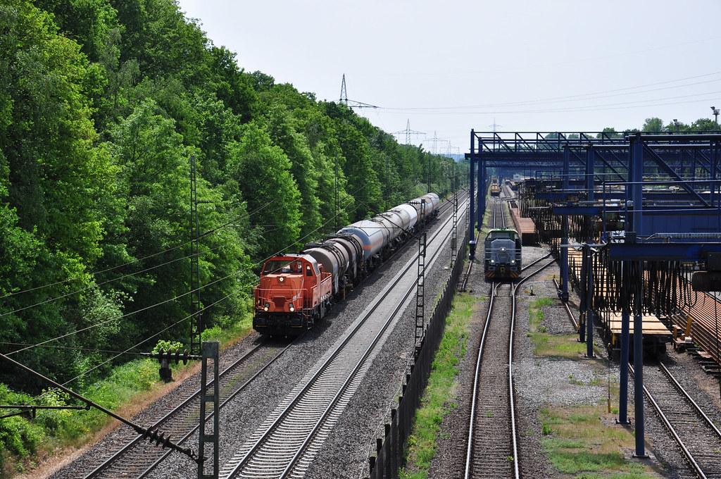 Retrack 261 301 Duisburg Grossenbaum 2018 Privat Und Werkbahnen