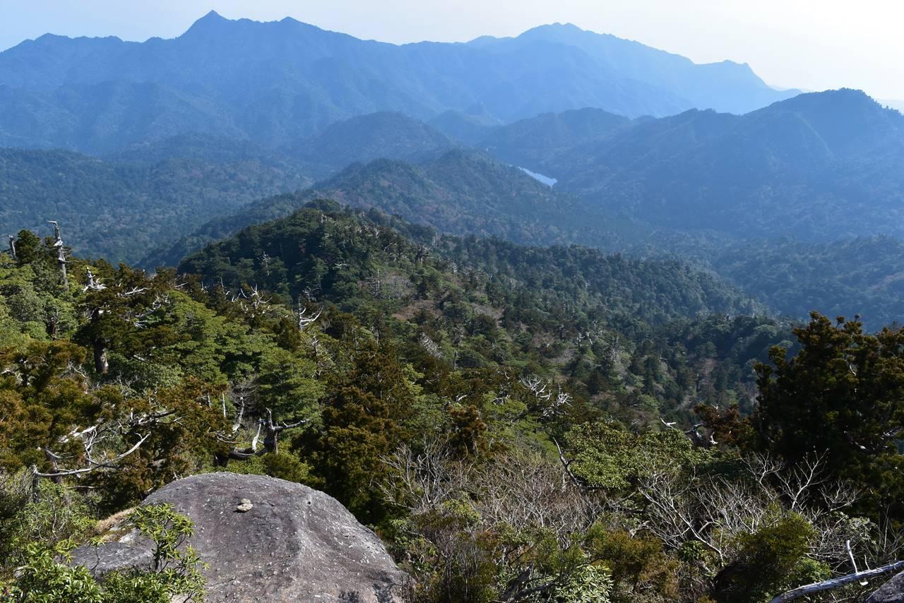 太忠岳からの眺め