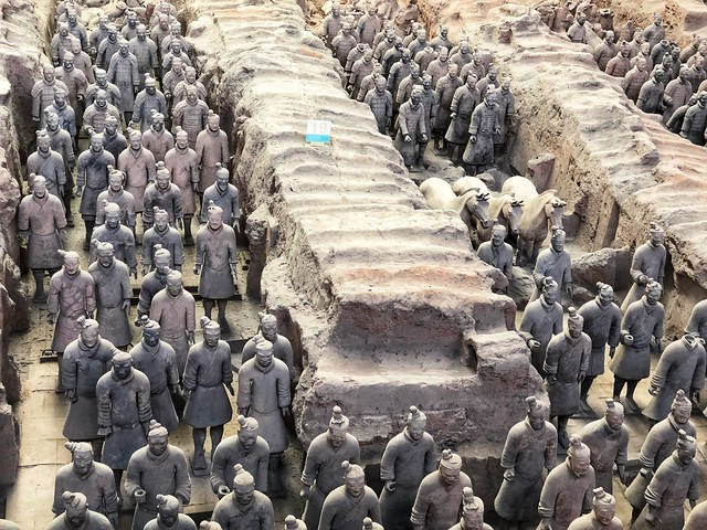 Los guerreros de Xi'an