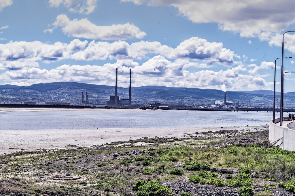 THE POOLBEG STACKS AS SEEN FROM CLONTARF 007