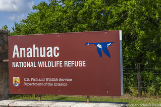 Welcome sign at Anahuac NWR JN112715 | by JaniceNolan_braud