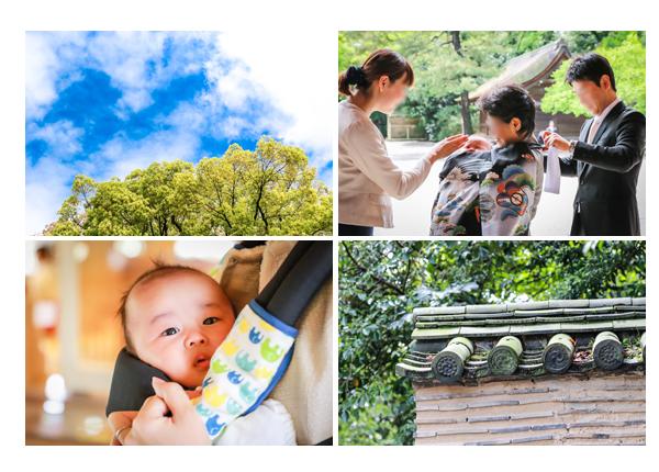 出張撮影カメラマンが撮る名古屋市熱田区でのお宮参りのロケーションフォト