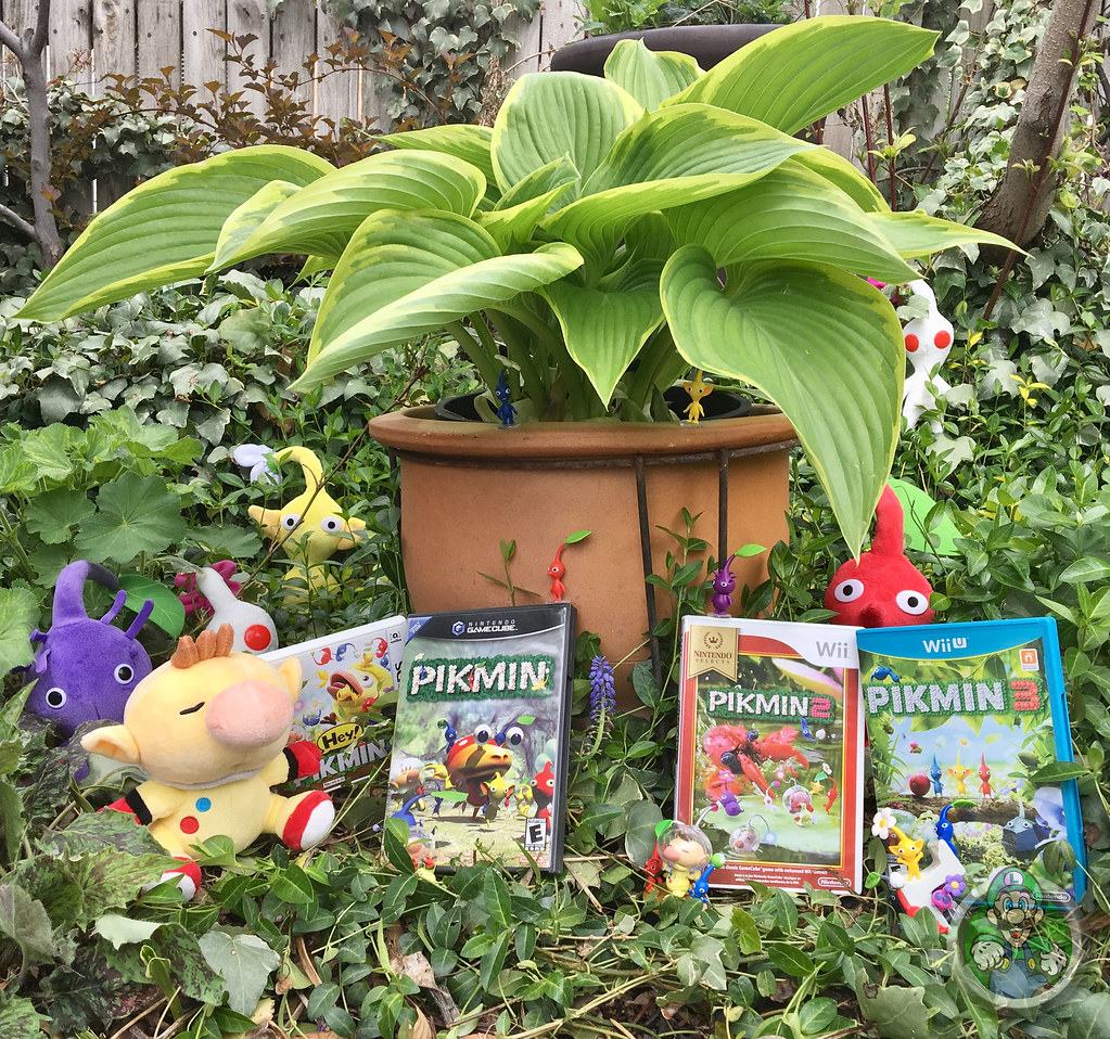 My Pikmin Collection And Now For A Dramatic Reenactment Flickr