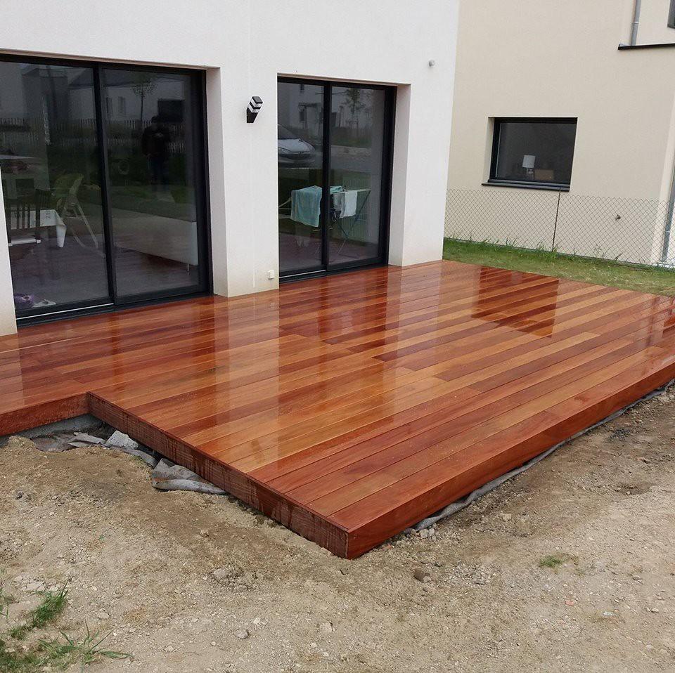 terrasse en cumaru rouge bed carquefou www bois flickr. Black Bedroom Furniture Sets. Home Design Ideas
