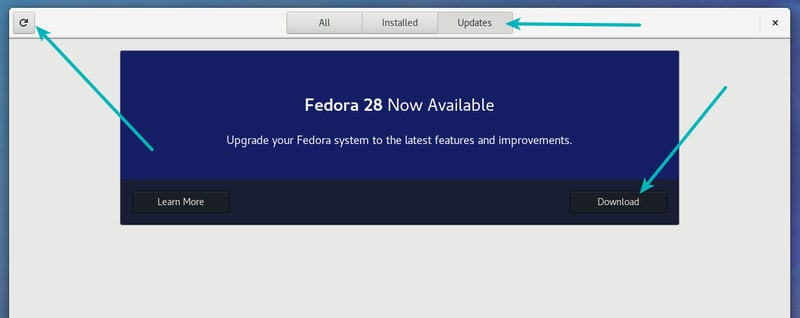 upgrade-fedora-version