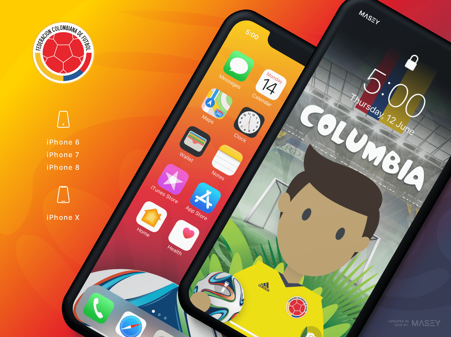 Team Columbia iPhone Wallpaper