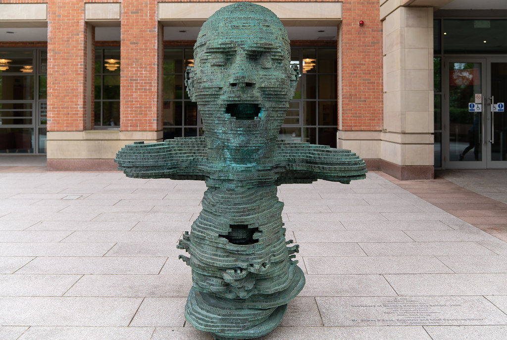 """THE SCULPTURE """"ECO"""" BY MARK DIDOU  003"""