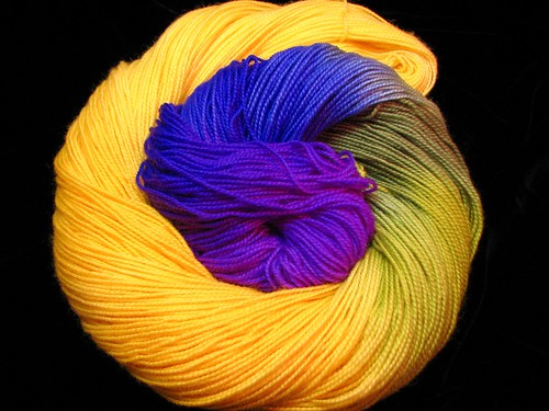 Jonquil in the Sky - April 2018 Tiger Sock Yarn Club - Bengal Tiger Twist | by ThePaintedTiger