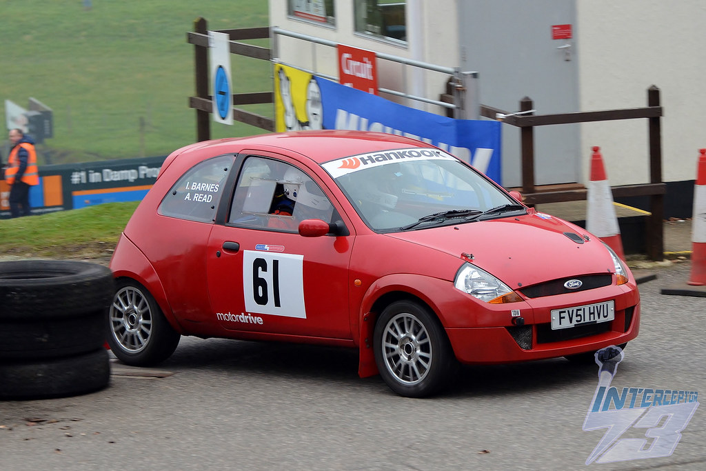 Ian Barnes Adam Read Skegness Tyre And Exhaust Centre Ford Ka  Cc Class