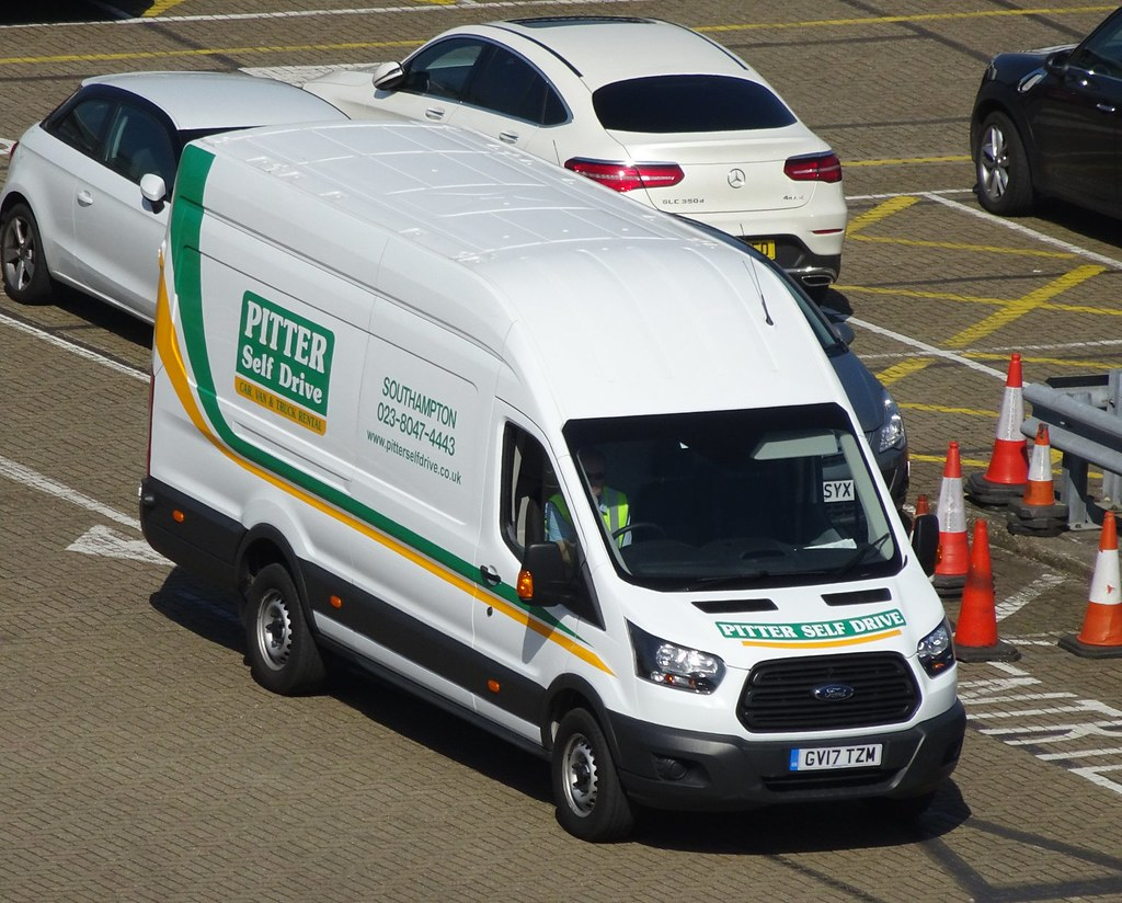 2017 ford transit van pitter self drive van rental southampton england by
