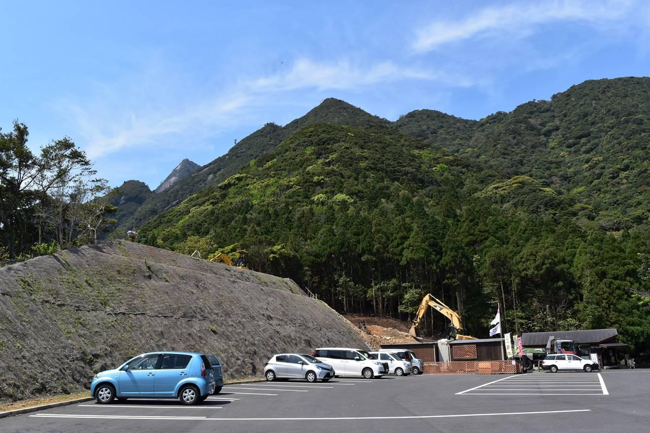 千尋滝駐車場