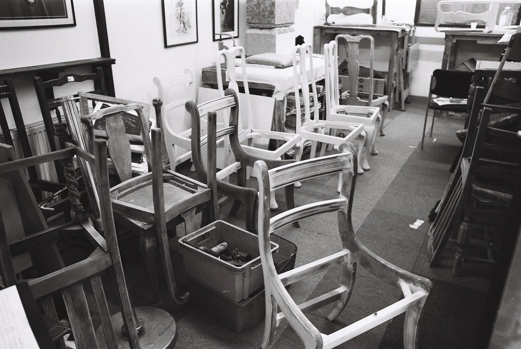 07 Furniture Repair Shop I Minox Flickr