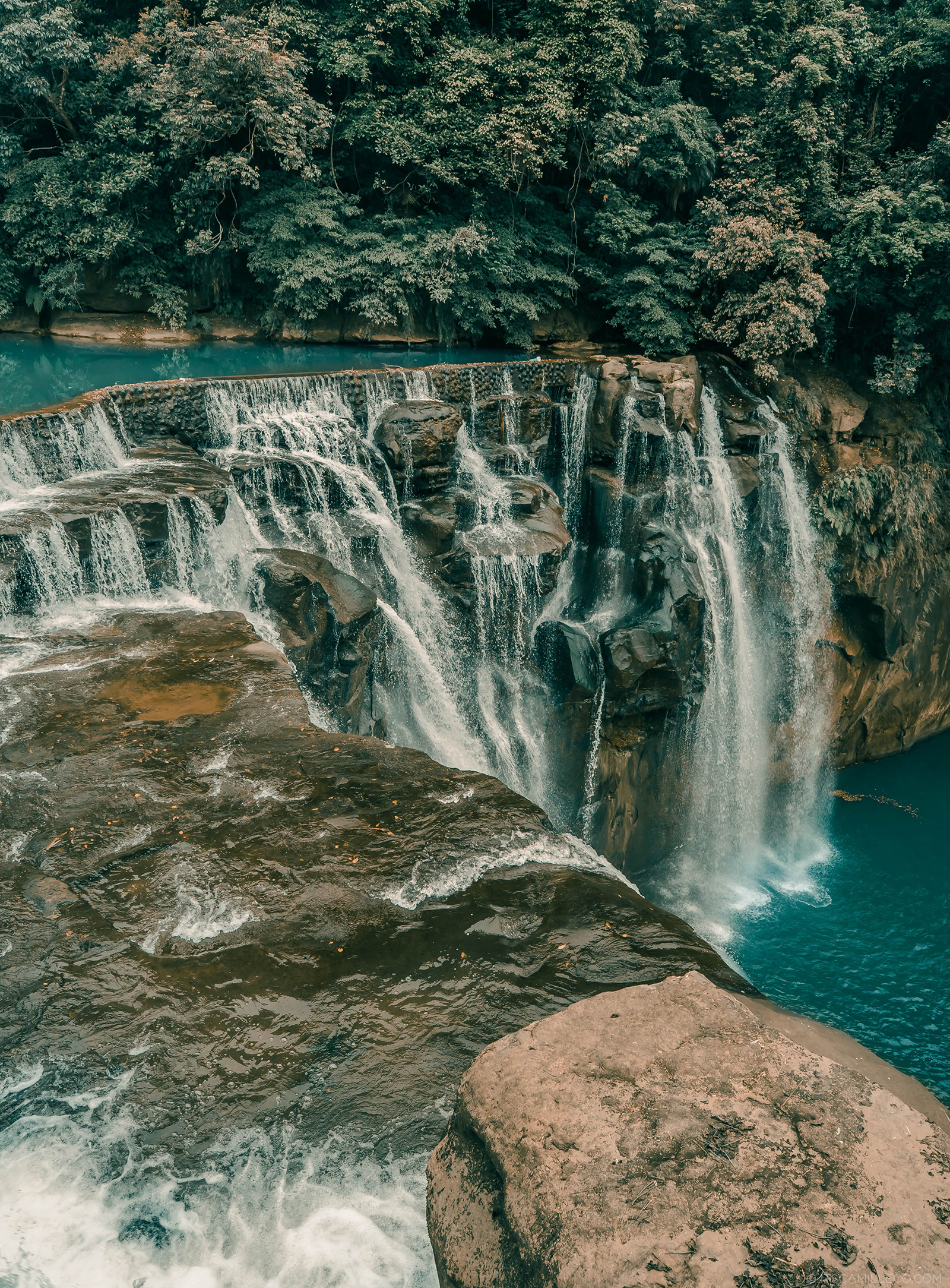 Shifen Waterfall - Camille Co