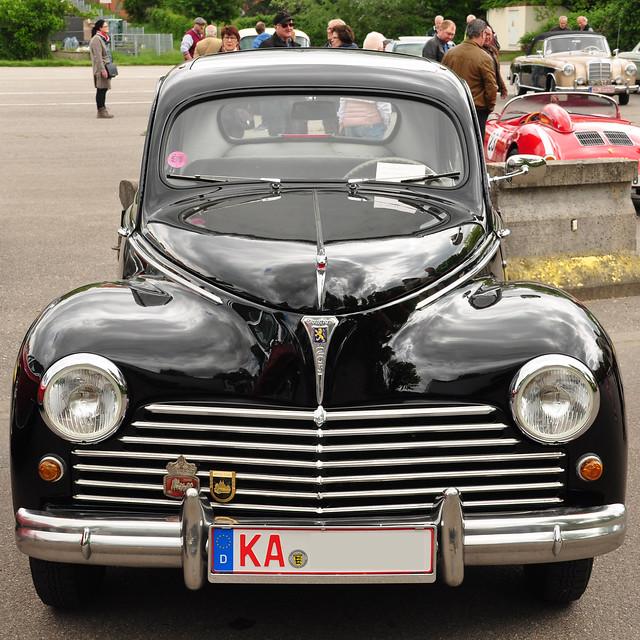 1. Mai 2018_Oldtimer-Treffen in Ketsch_Fotos: Brigitte Stolle_Peugeot 203 (1948-1960)