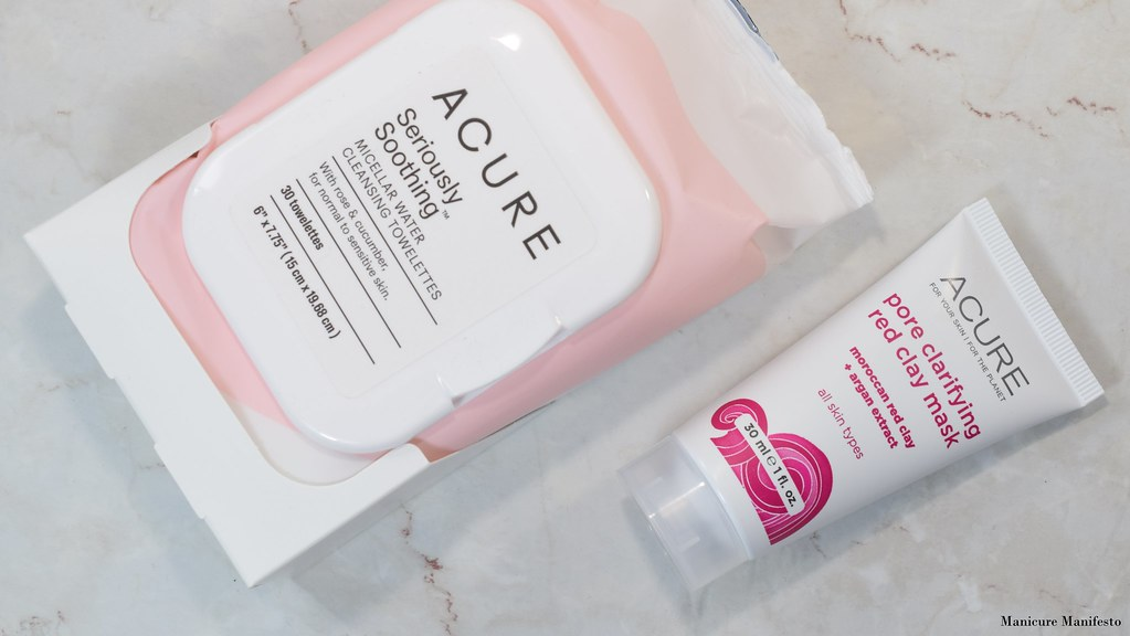 Acure Organics Pore Clarifying Red Clay Mask Review