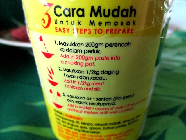Liza's instant paste 2